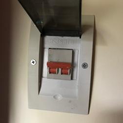 Electrocution switch.